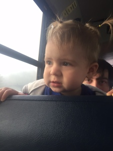 Riding the bus to the Chickamauga Chase