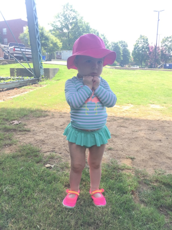 A day at the park and the splash pad
