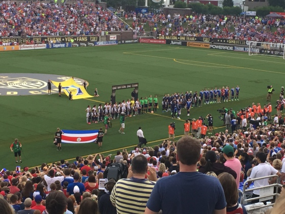 US Women's Soccer Game